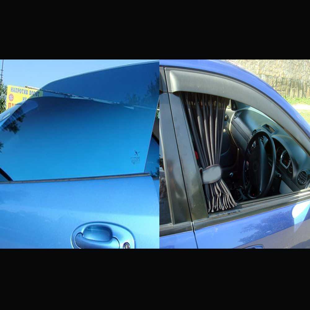 Автомобильная пленка или автошторки