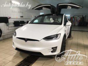 Антигравийная защита Tesla Model X