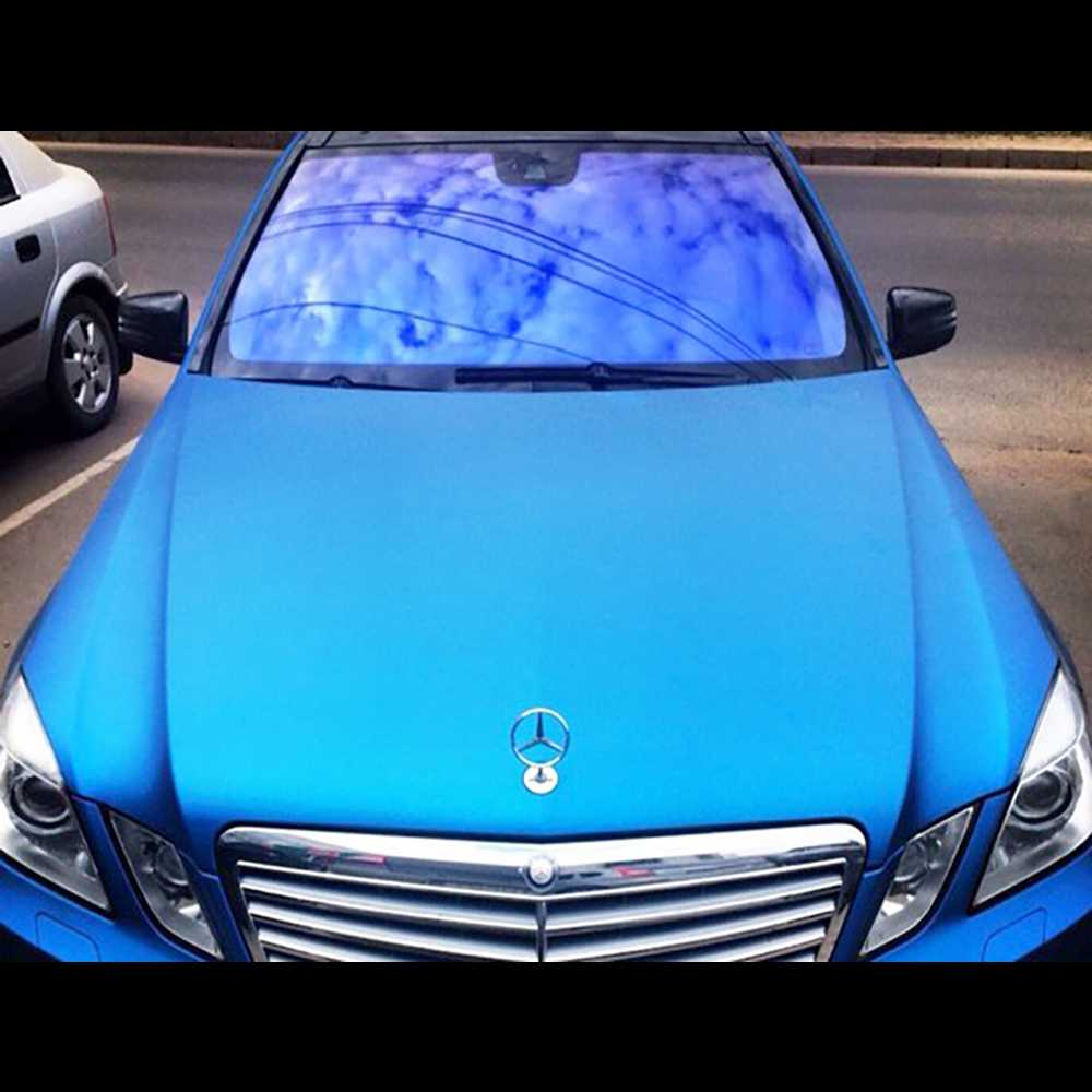Тонировка авто меняющая цвет